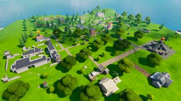 Battle Royale Map Chapter 1