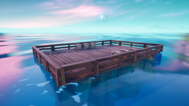 Clean Wooden Island 1v1 Map