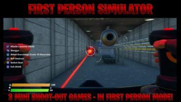 First Person Simulator