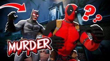 Super Hero Murder Mystery