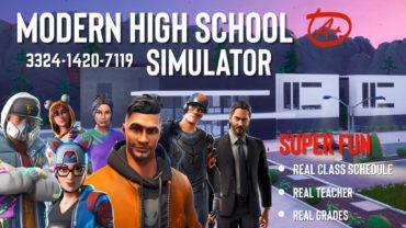 Modern High School Simulator