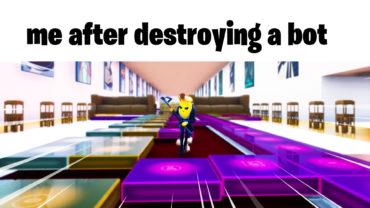 Wide Putin Walking Meme in Fortnite