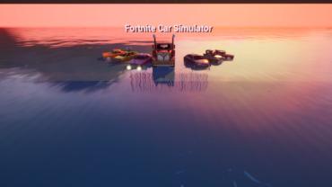 FORTNITE CAR SIMULATOR© YouTube: Hozzzww