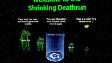 20 Level Shrinking Deathrun