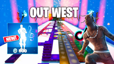 Out West Emote in Fortnite Music Blocks