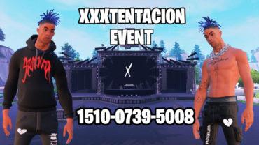 XXXTENTACION event (2 Players Only)