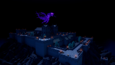 Haunted Castle with Dragon's Lair Battle