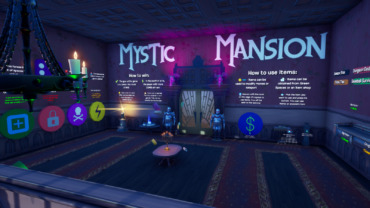 Mystic Mansion - A Fortnite Board Game
