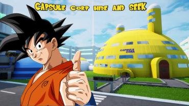 Capsule Corp Hide and Seek
