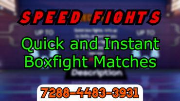 Speed Fights | Quick BoxFights