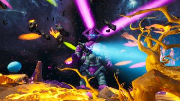 Galactus Boss Fight