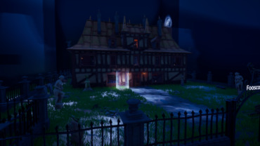 Haunted Manor Escape Map