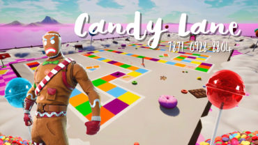 Candy Lane Board Game