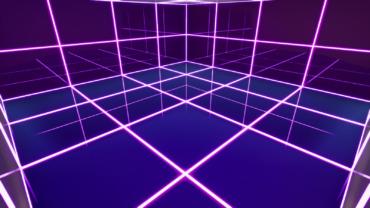 Neon Box Fight