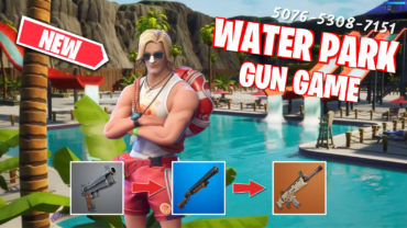 Outdoor Water Park GUN GAME