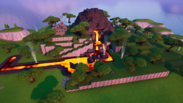 Volcano From Season 8 (Battle Royale)