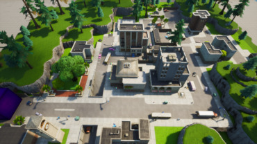 tilted towers (Zone Wars)