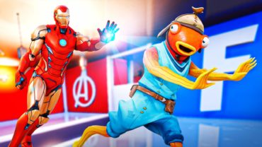 Marvel vs Fortnite (Trappers vs Runners)