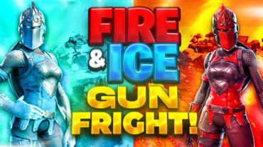 Fire & Ice Gun Fright!!