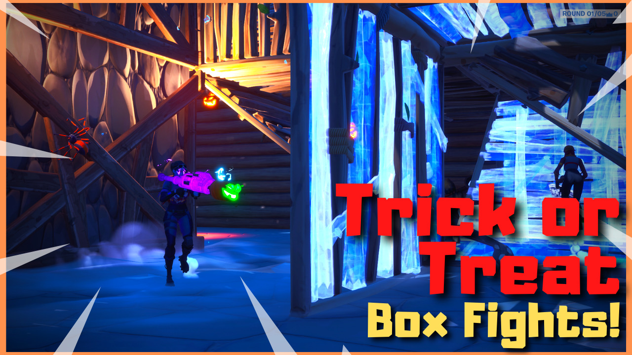 Trick Or Treat Box Fights Iiisandman Fortnite Creative Map Code