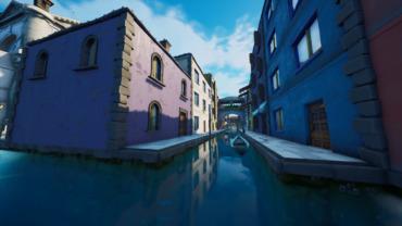 Cache -cache à Venise