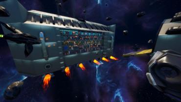 SPACE GUARDIANS VS SPACE PRISONERS