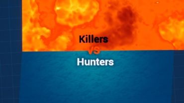 2vs10 Killers VS Hunters | Boxfight