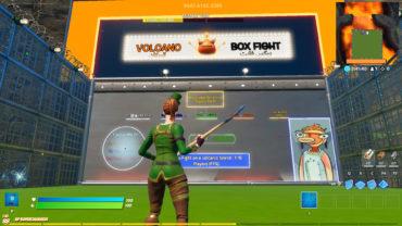 VOLCANO BOX FIGHT بوكس فايت البركان