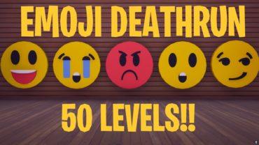 [SOLO] 50 Level Emoji Deathrun!