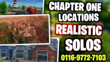 OG CHAPTER 1 LOCATIONS: REALISTIC SOLOS