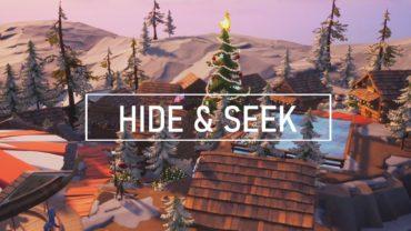 Christmas Village Hide and Seek