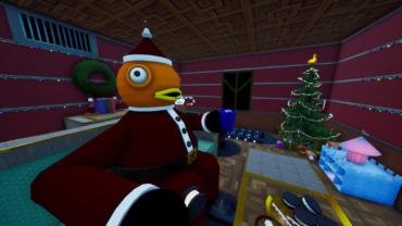 Fish Kringle's Christmas Hide and Seek.