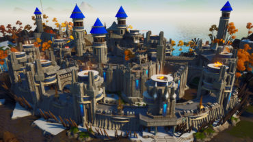 The Blue Knights Keep: GUN GAME