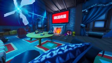 Grubhub Gamer's Mansion of Mayhem!