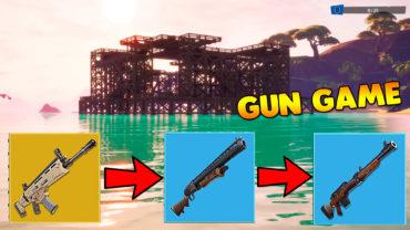 Gun Game Tropical fortress
