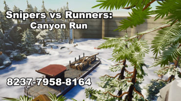 Sniper's vs Runners: Canyon Run