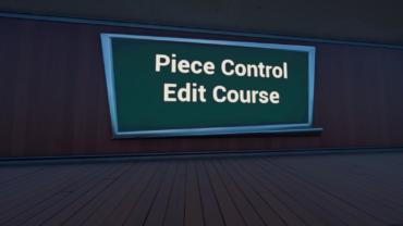 CanDooks Piece Control Edit Course