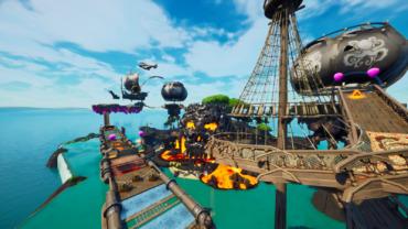 Arachneo's Drift Race of Piracy