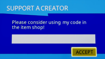 Support a Creator Sign