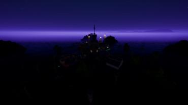 Floating island gungame