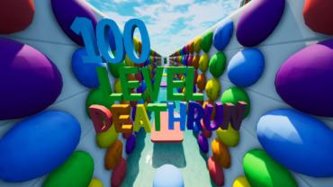 100 Level Rainbow Deathrun🌈