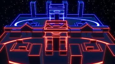 4v4 Neon Arena