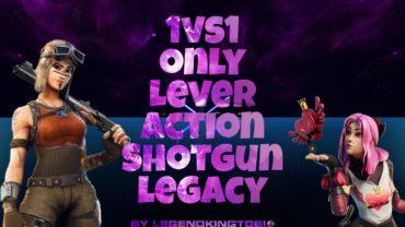 1VS1 Only Lever Action Shotgun Legacy