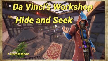 Da Vinci's Workshop (Hide and Seek)