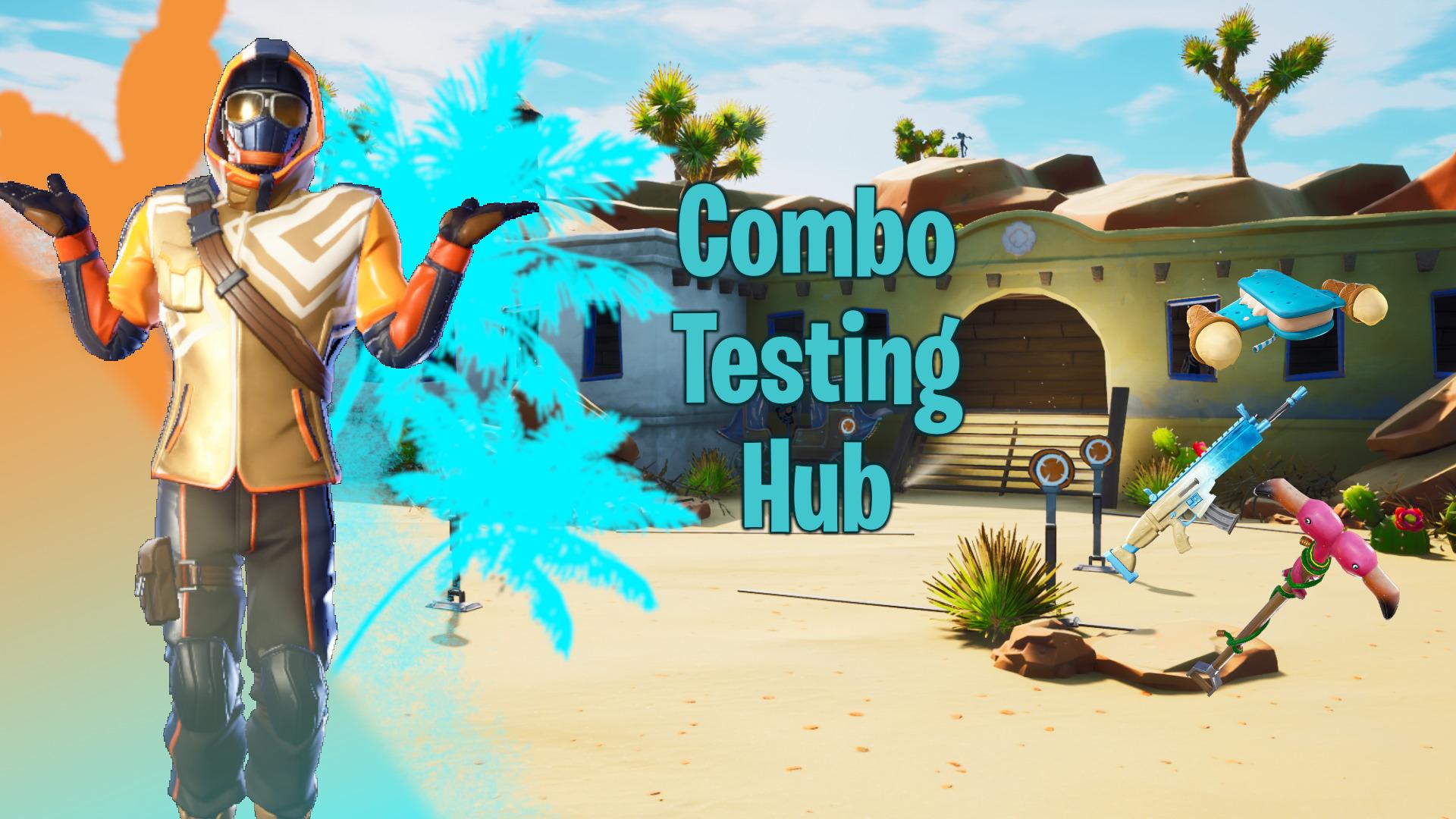 Fortnite Bullseye Edit Skin Changing Hub Desert Crimtanefn Fortnite Creative Map Code