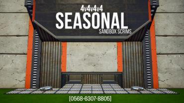 Season 5 Sandbox Scrims [4v4v4v4]