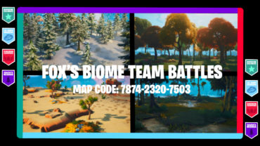 🗺️Fox's 4v4v4v4 Go Goated Biome Battles🗺️
