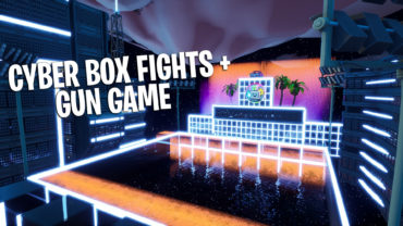 Cyber Box Fight + Gun Game