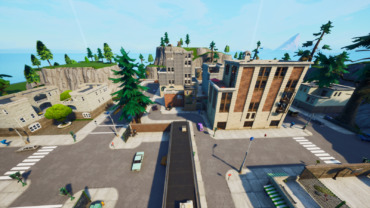 Tilted Towers OG Playground