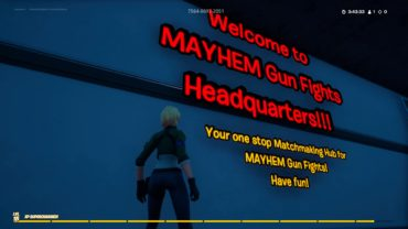 MAYHEM Gun Fights Headquarters